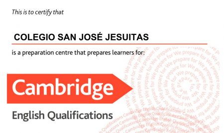 Reconocimiento del Cambridge Assessment English